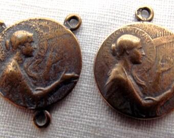 Bronze St. Cecilia Chaplet Set