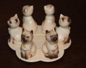 Simease Cat Figurine