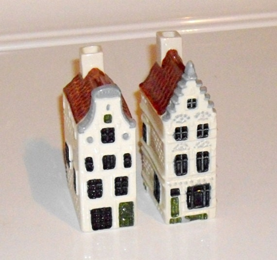 Canal Houses Royal Goedewaagen Poly Delft Holland Amsterdam