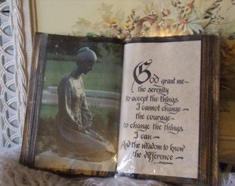 God Grant Me the Serenity Book Display
