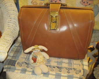 Leather Brief Case VINTAGE