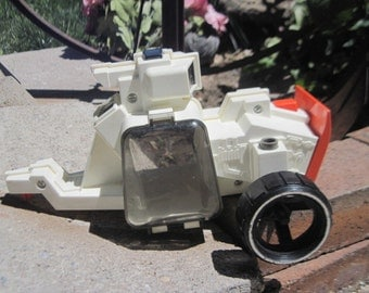 Fisher Price Adventure People Alpha Star  Tractor and Little Robot Hard to find  1983
