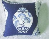 Akishino Blue Cushion 50 x 50cm