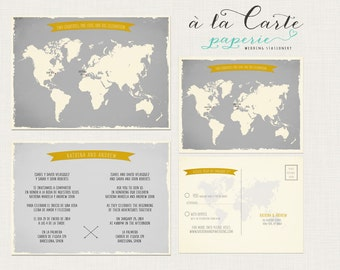 bilingualinvitation  etsy, Wedding invitations