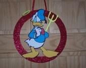Donald's Decision / Donald Duck wreath / Wall art