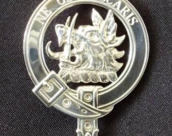 MacIver Scottish Clan Crest Badge