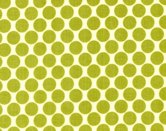 1 yard Amy Butler Lotus Full Moon Lime Dot AB13