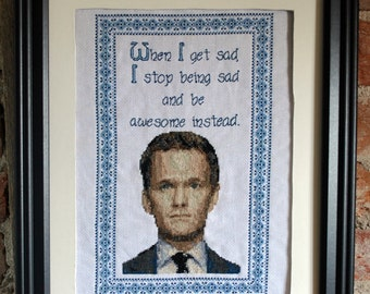 Epic Barney Stinson Pattern