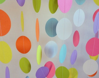 Easter Decoration, Paper Garland, Easter eggs