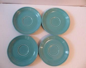 Fiestaware Saucers Light Green
