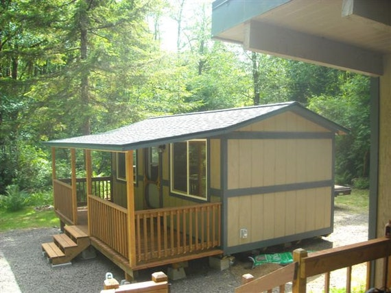 10x20 Portable Cabin With Porch
