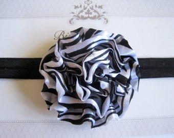 Zebra Headband, Baby Headbands, Headbands, Baby Girl Headbands, Infant Headbands, Baby Bows
