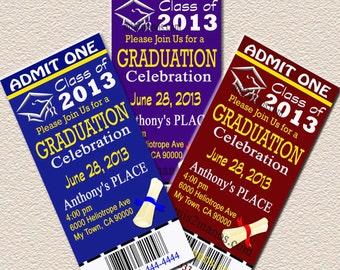 graduation tickets