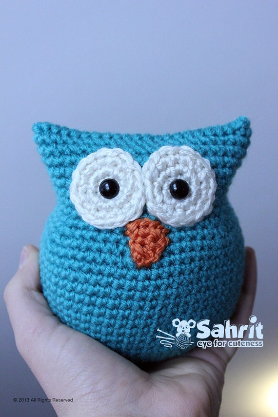 Free Crochet Pattern For Pot Holder Doll : PATTERN Instant Download O-SO-CUTE Owl Crochet Amigurumi doll