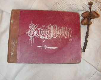 Scrapbook from 1879