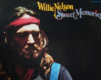1979 Willie Nelson, Vintage Willie Nelson Sweet Memories, Vintage Country Music, Vintage Vinyl, Classic Country Music, Country Records
