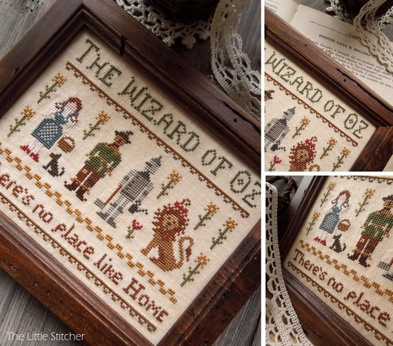 The Wizard of Oz - PDF Digital Cross Stitch Pattern - Fairytale Series