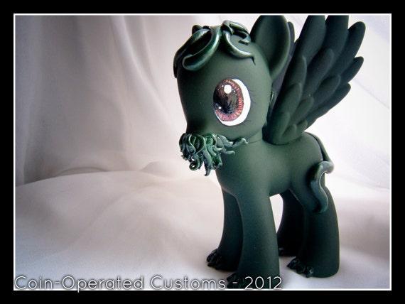 OOAK My Little Pony - Friendship is Magic Cthulhu Cthulhu