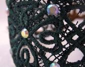 Shamrock Lace Bracelet Green