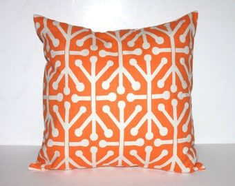 CLEARANCE - 16x16 Orange Jacks Pillow Cover - Premier Prints