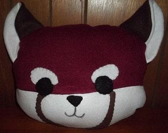 Sweet Red Fox Plush Pillow