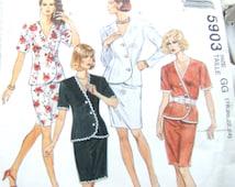 McCalls 5903 uncut size 18, 20, 22 and 24 womens suit