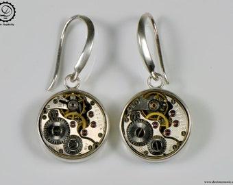 Alpha Earrings - Tempus Fugit Series | Machinarium Collection
