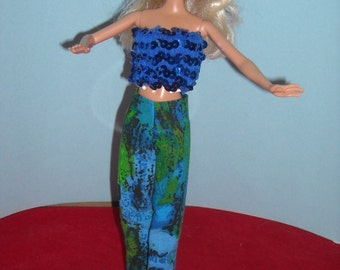 Barbie Pants with Top and accessories Choose from 3 Styles