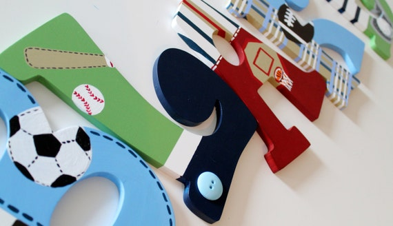 Items Similar To Personalized Jr. Varisty Sports Themed