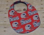 New England Patriots Baby Bib