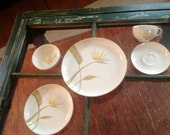 Winfield Bird of Paradise Place Settings & S/P/ Creamer/sugar 2 platters for Loretta
