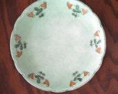 Bavarian China  Hand-Painted Plate
