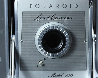 Vintage Polaroid Land Folding Camera - Model 160