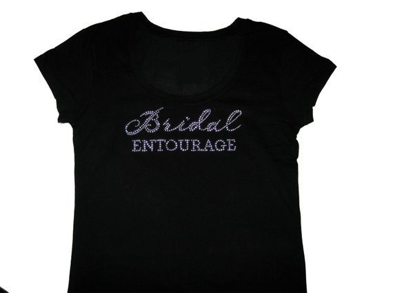 Bridal Entourage Shirt, Bridesmaid Gifts, Bridesmaid Shirts, Bachelorette Party Shirts, Bridesmaid Proposal, Maid of Honor Gift, Team Bride