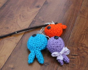 Newborn Props//Crochet Fish//Extra Fish for Fisherman Set//Choose your Colors//Crocheted Fish//Newborn Photo Props//Photography Props