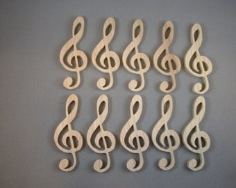 Musical Clefs (10)