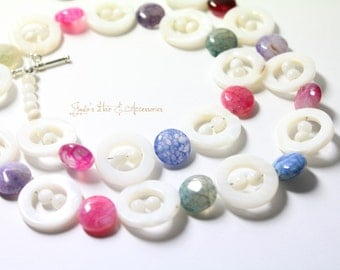 Candy shell necklace