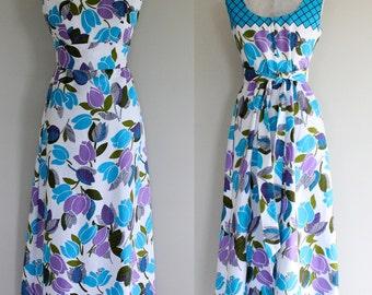 1970s Maxi Dress/Lee Stevens of Miami