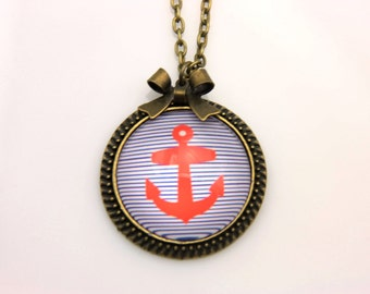 Necklace anchor marine 2525C