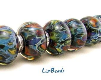 SRA Handcrafted Borosilicate Artisan Lampwork Bead Set - TREASURE DIVE