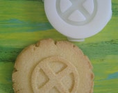 X MEN inspired COOKIE Stamp recipe and instructions - make your own Comic Cookies