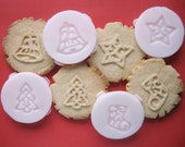 CHRISTMAS COOKIE STAMPS recipe and instructions - make your own decorative cookies