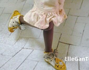 OOAK shoes for Kaye Wiggs bjd msd by ellegant