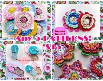 Pick  5 Crochet Patterns