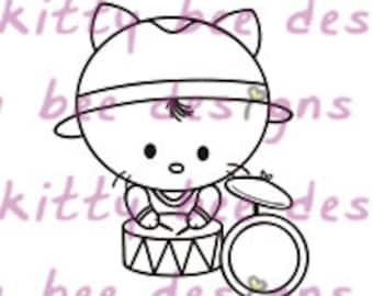 Percussion Kit Digital Stamp