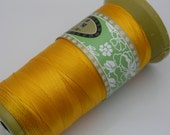 326Yard 0.4mm Eco-friendly Yellow Color  C-lon Beading Thread/Cord
