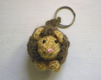 Crochet pattern PDF - Henry the Hedgehog key chain