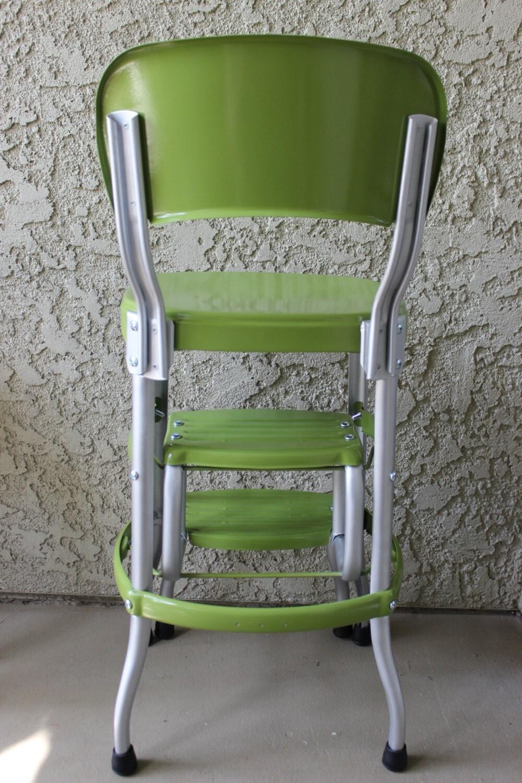 Vintage Green Cosco Step Stool