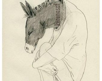 Donkey boy / print / withinKreach