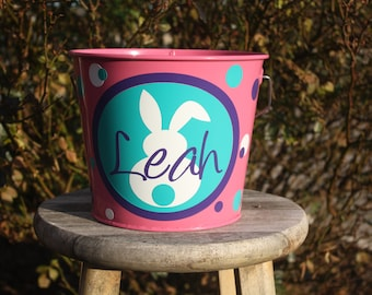 Personalized Easter/Valentines pails